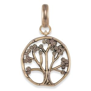 Kendra Scott Cherry Blossom Tree Charm Gold